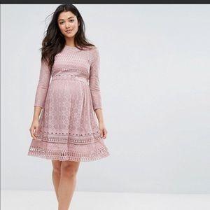 Asos MATERNITY lace dress